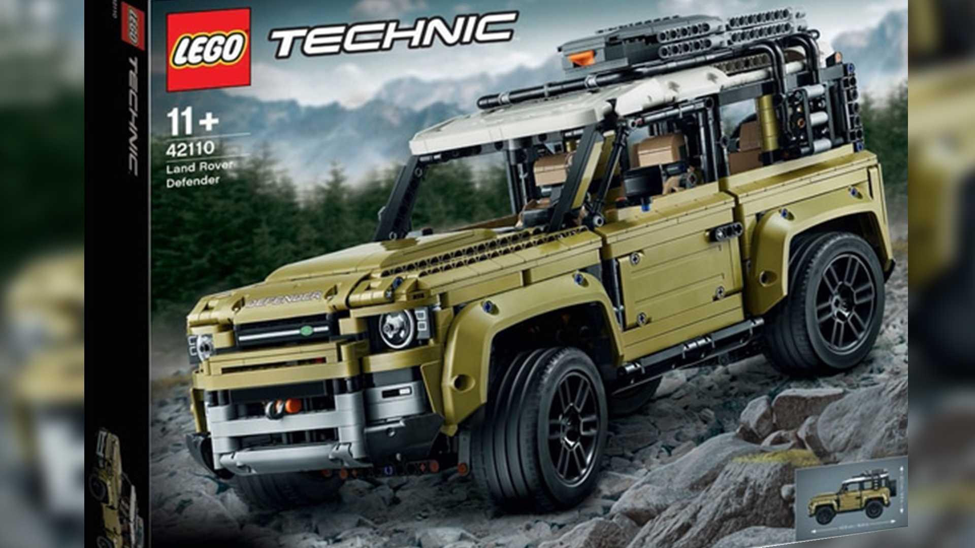 la nueva land rover defender 2020 es revelada por lego