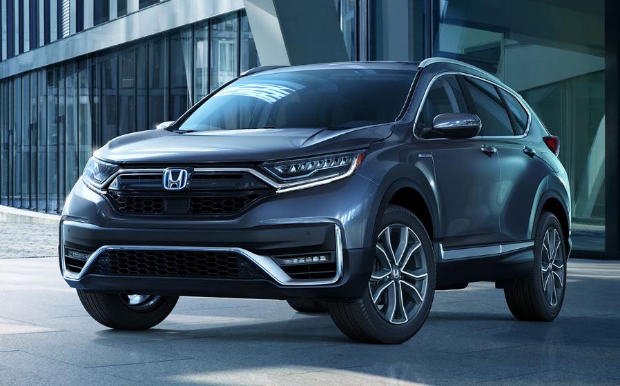 Honda CR-V Hybrid 2020 azul en las calles